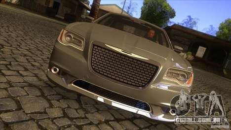 Chrysler 300 SRT-8 2011 V1.0 para GTA San Andreas vista interior