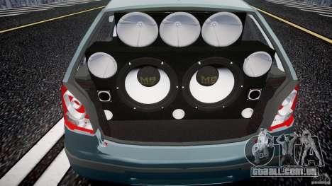 Volkswagen Polo 1998 para GTA 4 vista de volta
