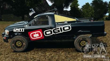 Dodge Power Wagon para GTA 4 esquerda vista