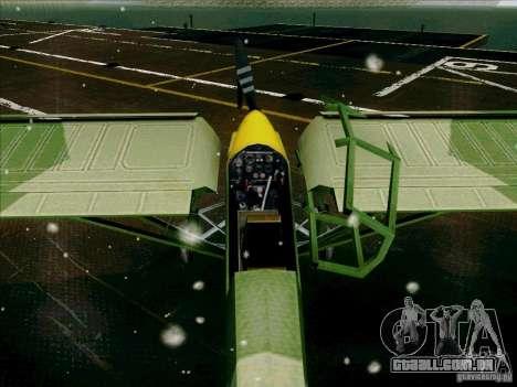 Fi-156 para GTA San Andreas vista interior