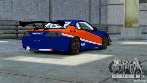 Nissan Silvia S15 Tokyo Drift V.2 para GTA 4 vista direita