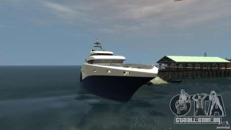 Yacht v1 para GTA 4 esquerda vista