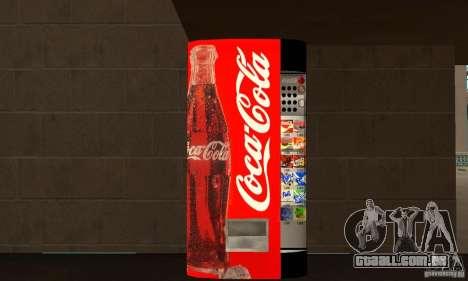 Cola Automat 2 para GTA San Andreas