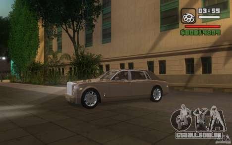 Rolls-Royce Phantom EWB para GTA San Andreas vista interior