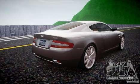 Aston Martin DB9 2005 V 1.5 para GTA 4 vista direita