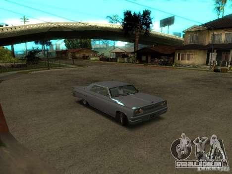 Vodu no GTA IV para GTA San Andreas esquerda vista