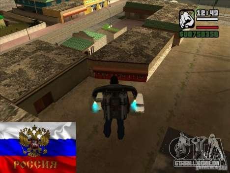 Russas lojas atrás da casa de CJ para GTA San Andreas segunda tela