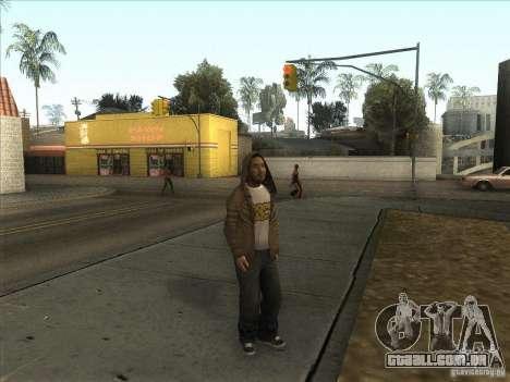 Ryo NFS PS para GTA San Andreas segunda tela