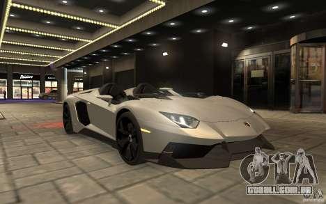 Lamborghini Aventador J para GTA 4 vista direita
