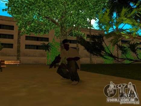 New Weapon Pack para GTA San Andreas sexta tela