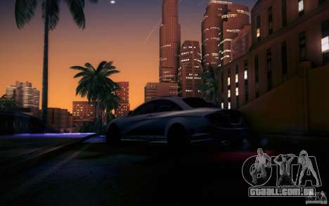 Mercedes Benz CL65 AMG para GTA San Andreas vista inferior