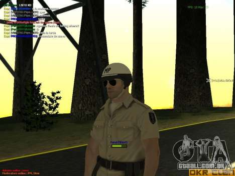 HQ texture for MP para GTA San Andreas sétima tela