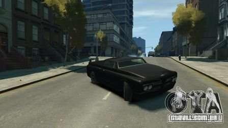 Slamvan para GTA 4 esquerda vista