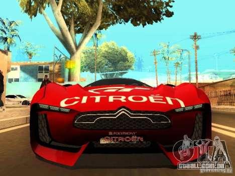 Citroen GT Gran Turismo para GTA San Andreas esquerda vista