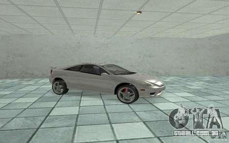 Toyota Celica para GTA San Andreas esquerda vista