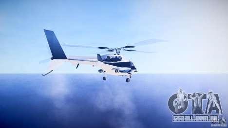 Airwolf v1.0 para GTA 4 traseira esquerda vista