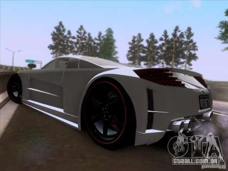 Chrysler ME Four-Twelve para GTA San Andreas traseira esquerda vista