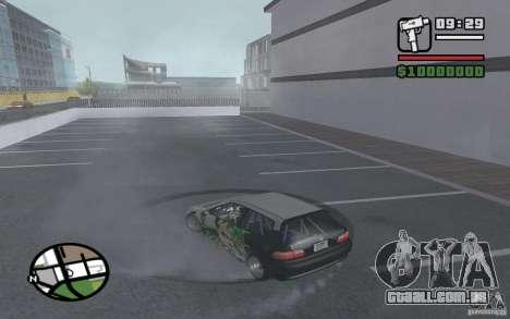 Honda Sivic drift para GTA San Andreas vista direita