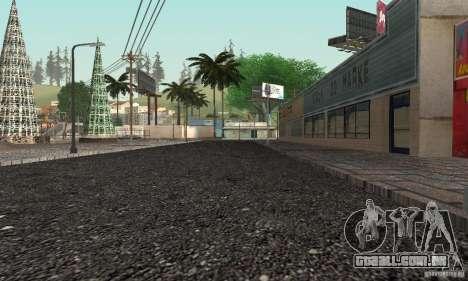 New Groove para GTA San Andreas quinto tela
