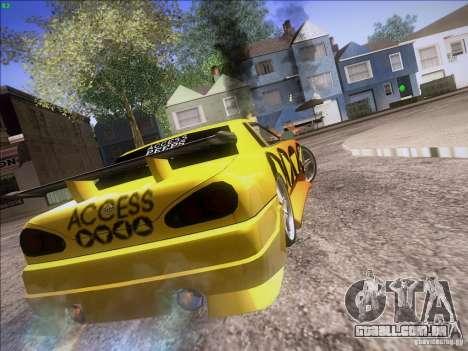 Elegy Cabrio Edition para vista lateral GTA San Andreas