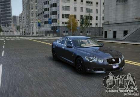 Jaguar XFR 2010 V.2.0 para GTA 4 vista direita