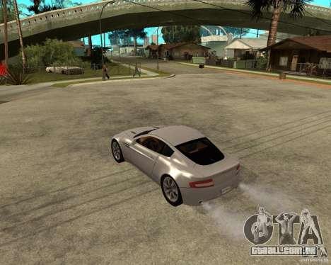 Aston Martin VANTAGE concept 2003 para GTA San Andreas esquerda vista