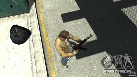 Red Army Mod (Realistic Weapon Mod) para GTA 4 terceira tela