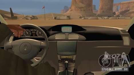 Renault Laguna II para vista lateral GTA San Andreas