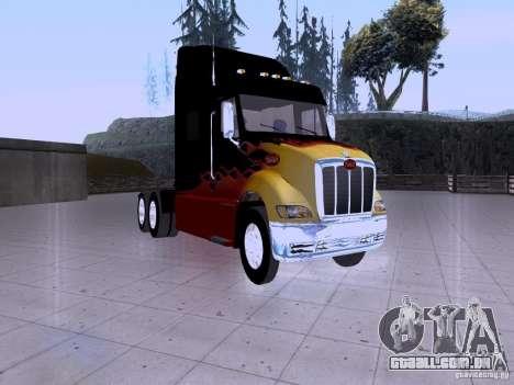 Peterbilt 387 para GTA San Andreas esquerda vista