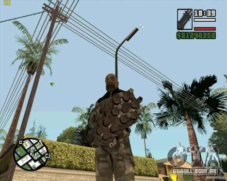 Minigun de Call of Duty Black Ops para GTA San Andreas