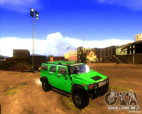 Hummer H2 updated para GTA San Andreas