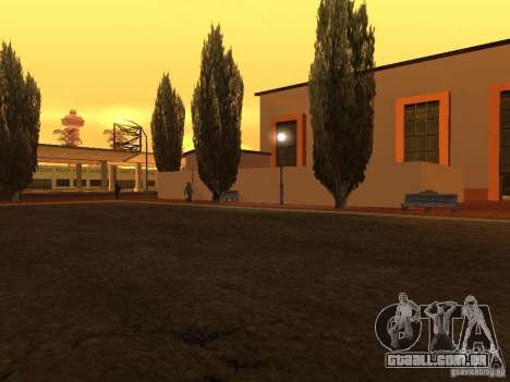 Unity Station para GTA San Andreas segunda tela