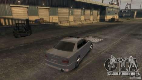 Toyota Chaser 2.5 Tourer V para GTA 4 esquerda vista