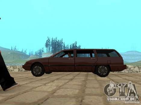 Suspensão a ar para GTA San Andreas segunda tela