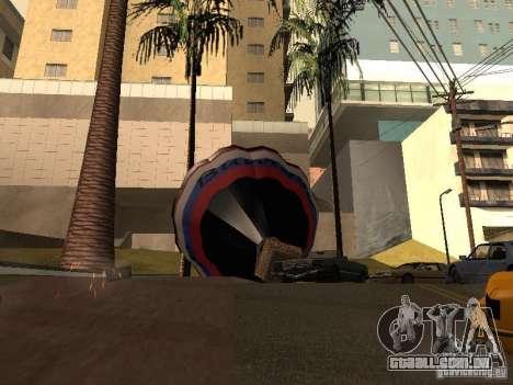 Balão Vityaz para GTA San Andreas traseira esquerda vista