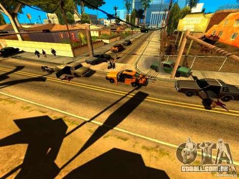 Real Kill para GTA San Andreas por diante tela
