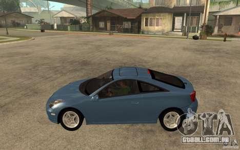 Toyota Celica SS2 para GTA San Andreas esquerda vista