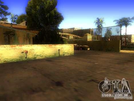 Armas na Grove Street para GTA San Andreas quinto tela