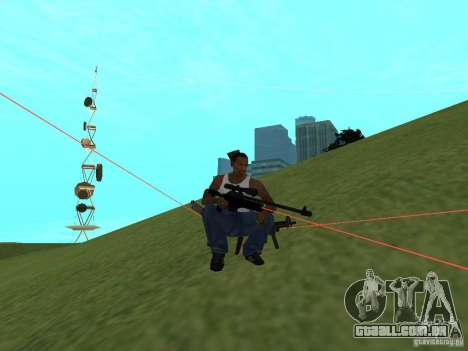 Laser Weapon Pack para GTA San Andreas oitavo tela