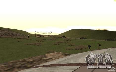 New desert para GTA San Andreas oitavo tela