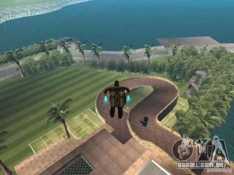 Mansão da ilha para GTA San Andreas segunda tela