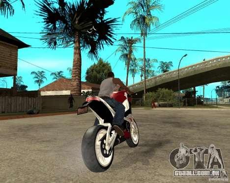 Buell LighTuning 1200 para GTA San Andreas