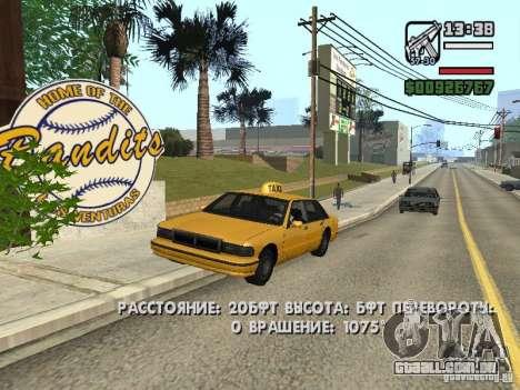 Tempo real para GTA San Andreas