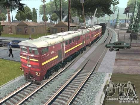 2te10u-0211 para GTA San Andreas traseira esquerda vista