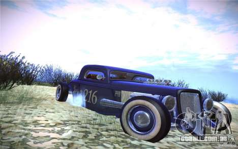 Ford Ratrod 1934 para GTA San Andreas esquerda vista