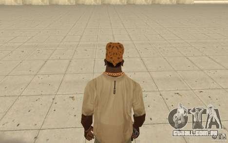 Bandana maryshuana para GTA San Andreas terceira tela