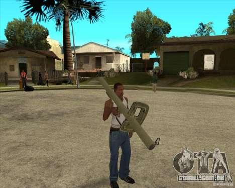 Armas da chamada do dever para GTA San Andreas segunda tela
