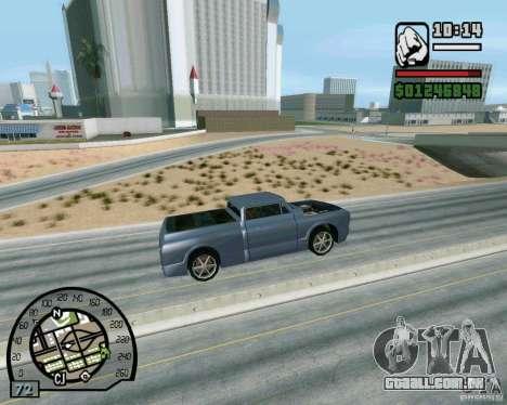 Saltos na auto-estrada em Las Venturase para GTA San Andreas quinto tela