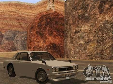 HQ Country Desert v1.3 para GTA San Andreas sexta tela