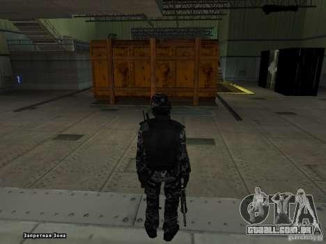 New Army para GTA San Andreas segunda tela